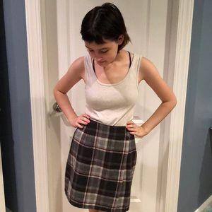 Dresses & Skirts - Plaid wraparound skirt! Fun for all. Like new!